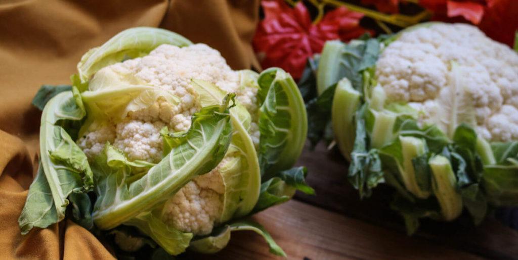 Step 1 on how to make cauliflower keto mash