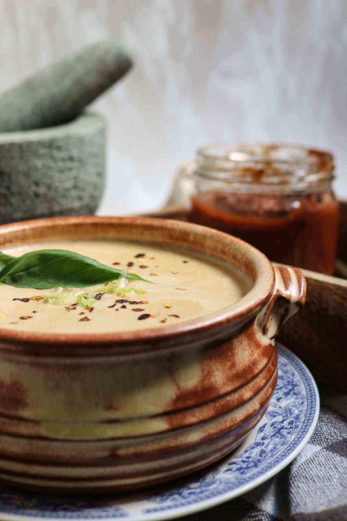 recipe image for keto egg drop soup