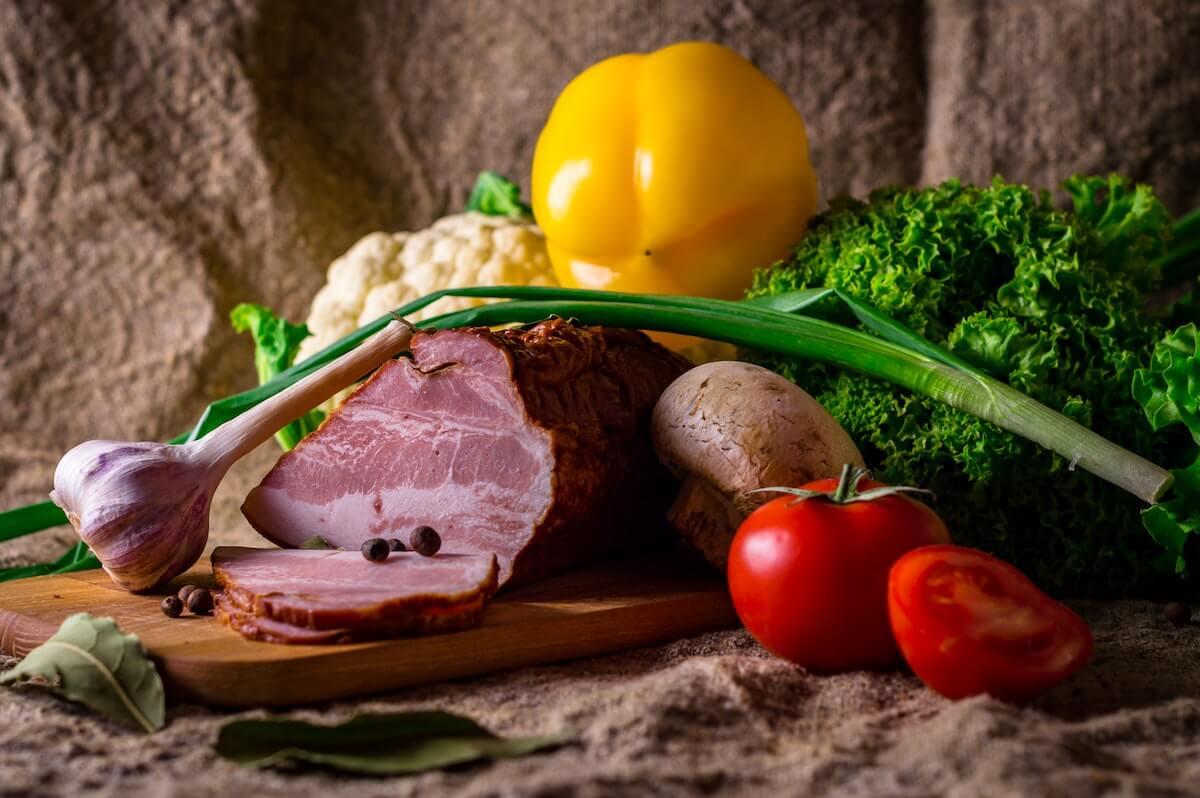 red meat vs liver vs veggies
