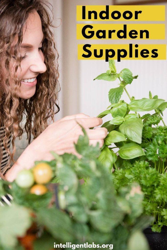 Indoor garden supplies you may need to buy