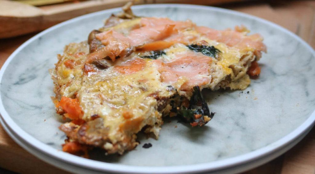 low carb recipe to try next - keto smoked salmon frittata